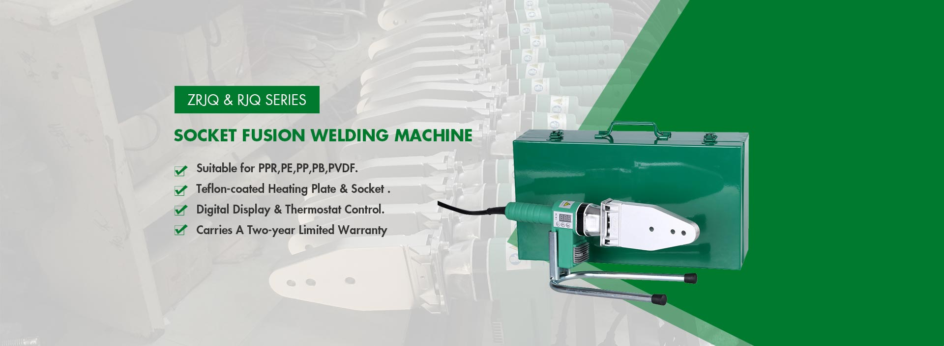 PPR Pipe Socket Fusion Welding Machine