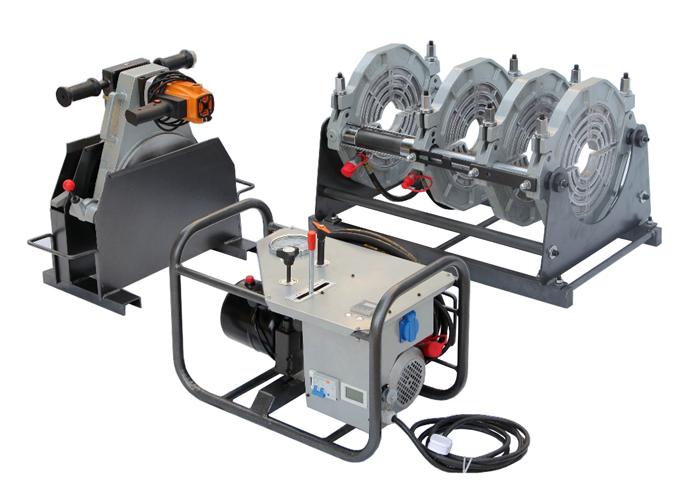 hdpe fusion welding machine